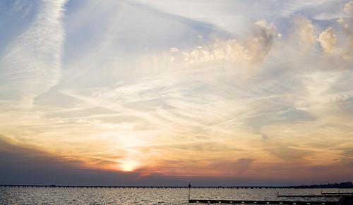 Mandeville Lakefront Sunset - Home...
