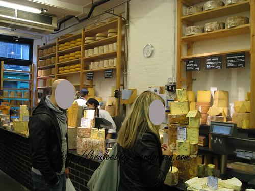 Neal's Yard Dairy - interior