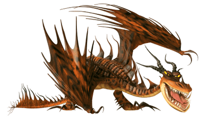 The next most powerful dragon, Nightmare which can turn in flames