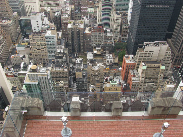 Viewing Platform, Top of the Rock