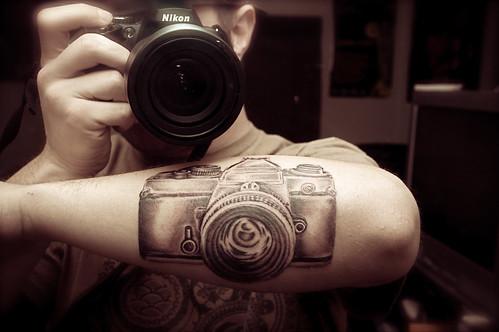 Warren Mancini @ Mad Hatter Tattoo in Palm Desert, CA.