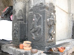 Onthe walls of the Mahalakshmi shrine 1 (by Raju's Temple Visits)