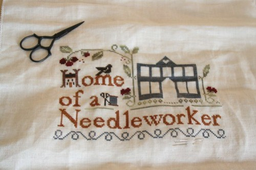 Home of a Needleworker