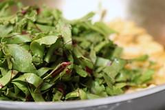 add beet greens