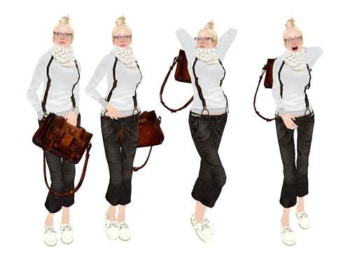 SLC modeling pose set(9)