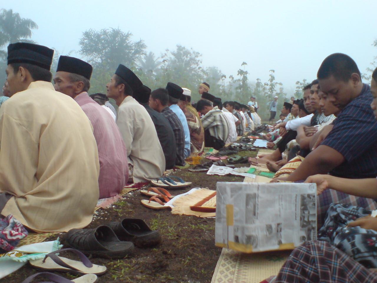 Shalat Ied di lapangan #grogol #indonesiabanget 08