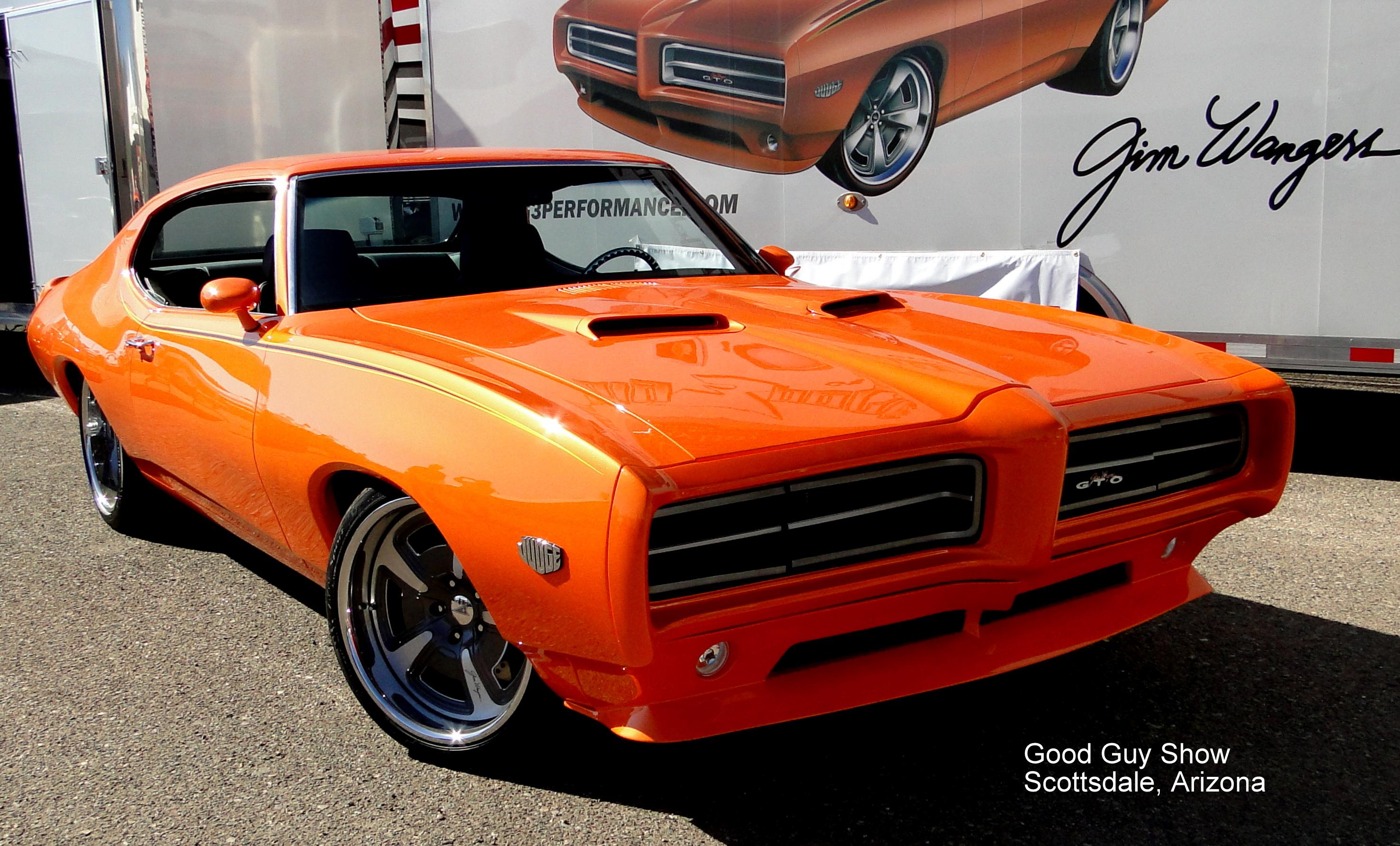 Custom Muscle Car