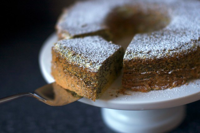 poppy seed lemon cake