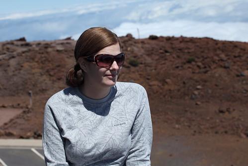 Tanie at the Summit