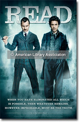 Sherlock Holmes READ Poster with Jude Law and ...