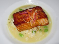 Ginger Glazed Sustainable Salmon - Ocean Grill