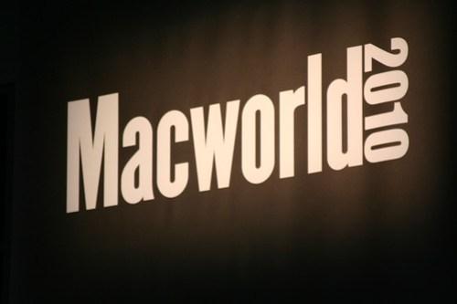 A cool MacWorld 2010 Pic