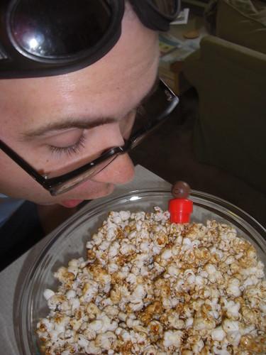 Popcorn with Jake