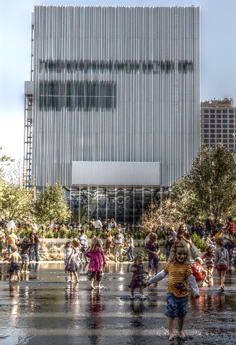 Kids spash Wyly Theater by chancew1