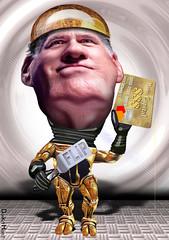 Mitt Romney, Robo-Flop