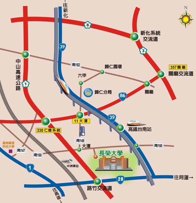 臺南長榮大學地圖|地圖- 臺南長榮大學地圖|地圖 - 快熱資訊 - 走進時代