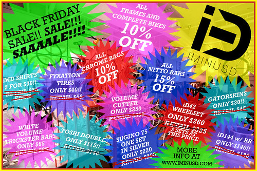 BLK FRIDAY SALE!
