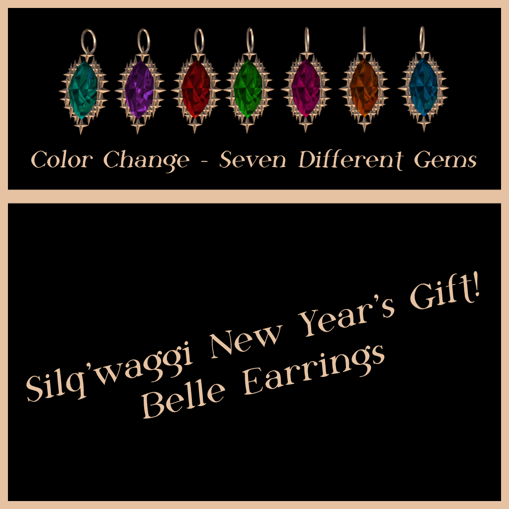 Belle Earrings by Silq'waggi
