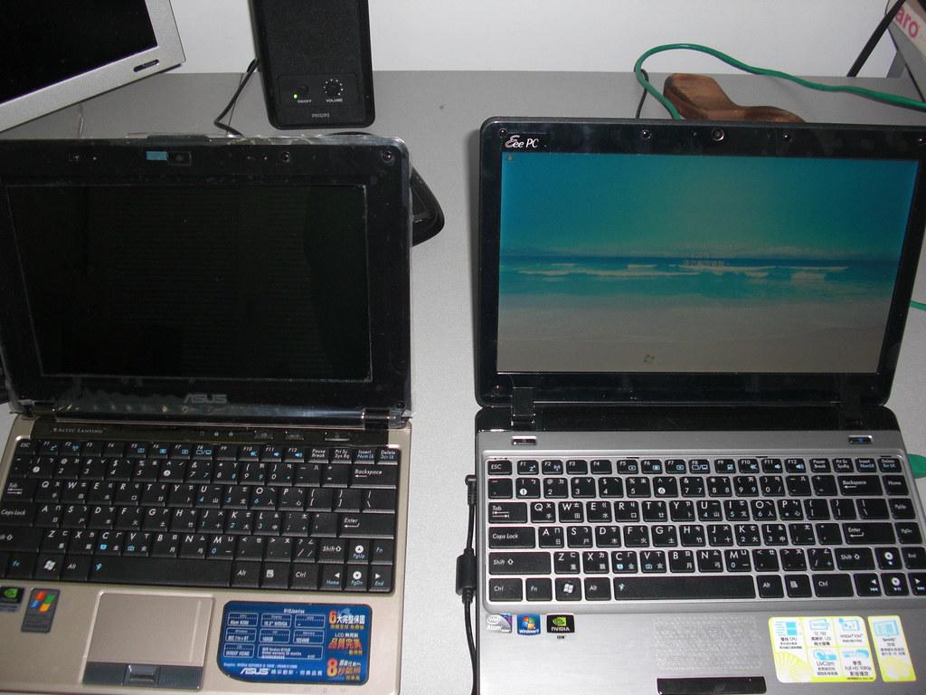 不專業獨顯小筆電PK(N10JB VS 1201N)