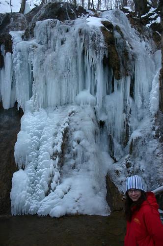 Falls Ridge - Vicky and Frozen Falls