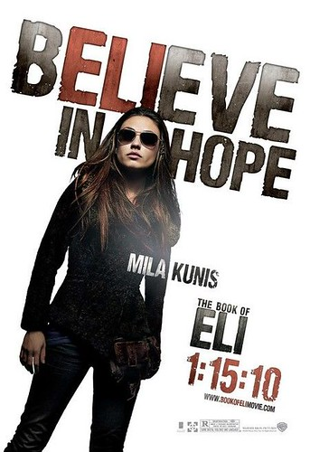 The Book of Eli (2009) poster Kunis