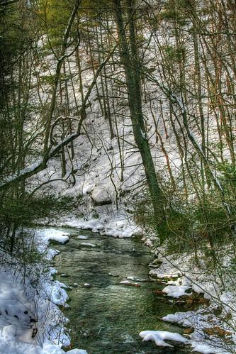 Snow on Otter Creek