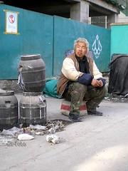 Beijing - building worker
