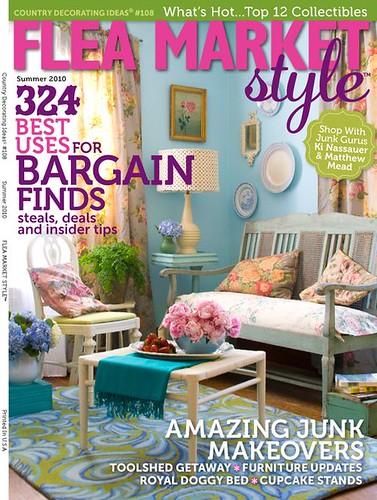 Flea Market magazine cover