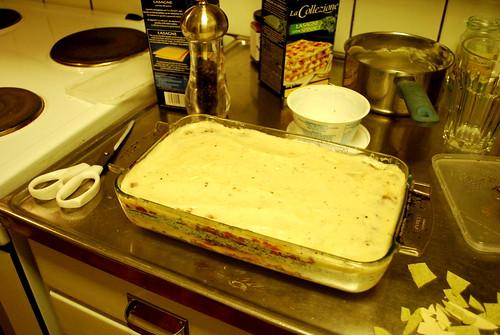 My 1st lasagne