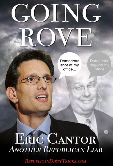 Eric Cantor Goes Rove Image