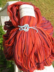 2384 Decadent Fibers Pulled Taffy in Red Hot Pepper