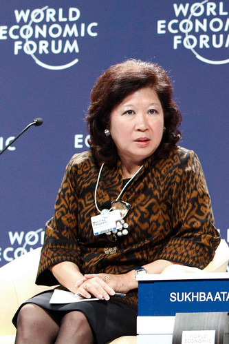 Mari Elka Pangestu - World Economic Forum on East Asia 2011