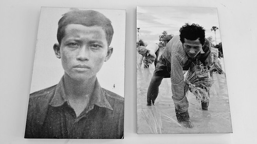 Portrait of an ex Khmer Rouge official - S21