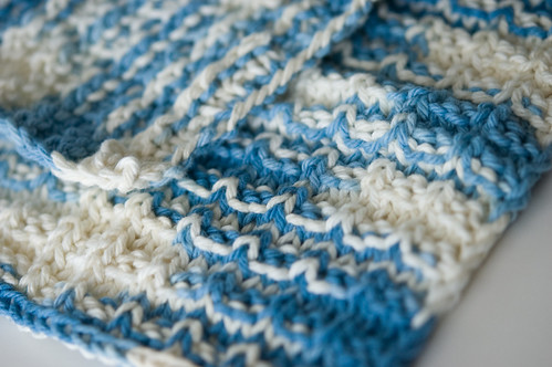 double bump dishcloths (by bookgrl)