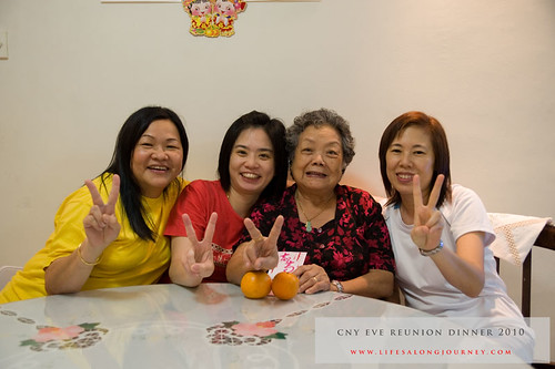 CNY Reunion Dinner 2010 #18