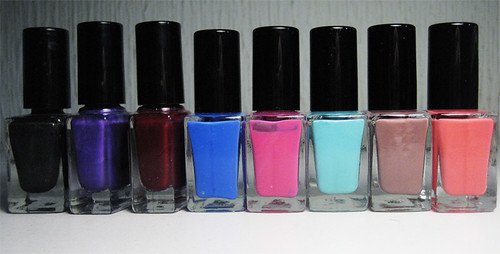 H&M nail polish colection