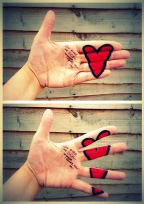 Love hurts…