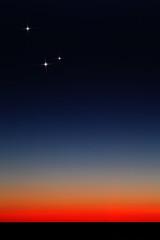 Horizon Glow & the Conjunction