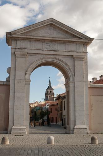 Puerta de Madrid en la actualidad