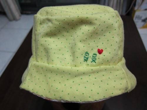 貝貝的第一頂漁夫帽