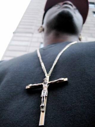 Cross on Chest By Samer Fouad of Shameful Designs