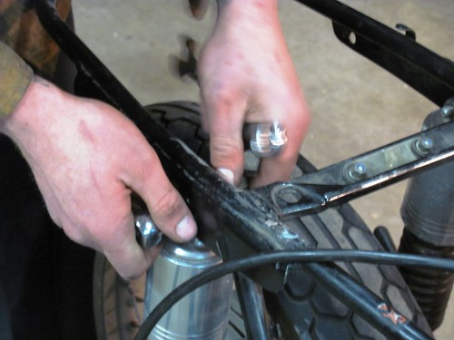Detaching Subframe