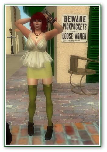 Green Pose 1