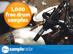 1000 free drum samples at SampleRadar