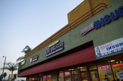 Like so many L.A. gems, La Delicias is hidden in a strip mall.