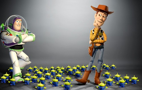 """Buzz Lightyear & Buddy """"Toy Story"""""""