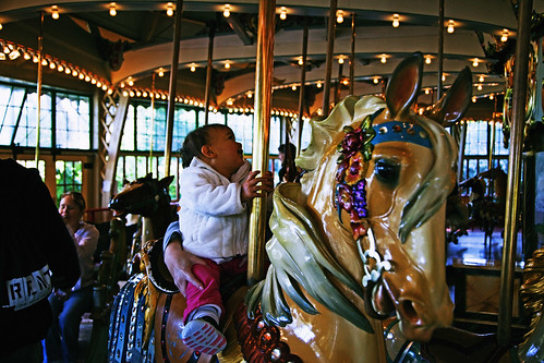 1st Carousel Ride