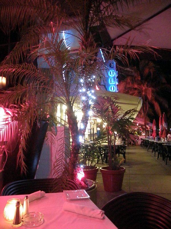 rendezvous restaurant outside