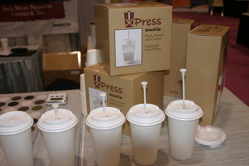 XPress Lid by SmartCup @ the 2010 SCAA Expo