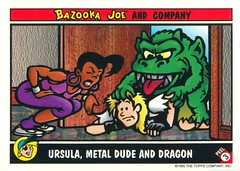Bazooka Joe 1995 Topps Sticker Cards